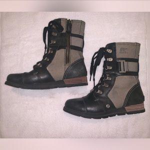 Sorel combat boots